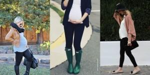 moda embarazadas Leggins
